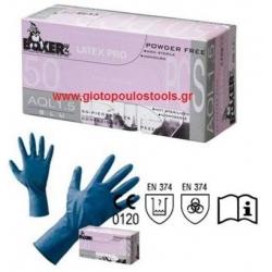 Γάντια μιάς χρήσεως latex PRO AQL 1.5