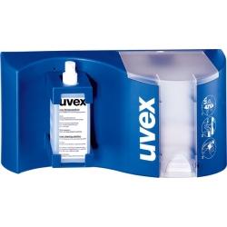 Στάντ UVEX καθαριζμού γυαλιών.