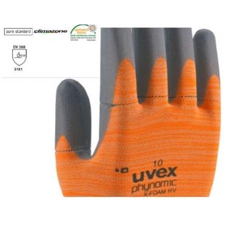 Γάντια uvex phynomic x-foam XV αποσπώμενα.